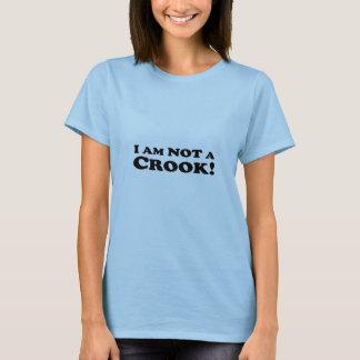 T-shirt Je ne suis pas un escroc - bébé de dames - poupée
