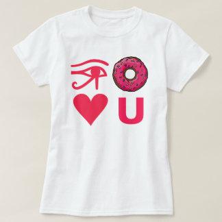 T-shirt Je ne vous aime pas