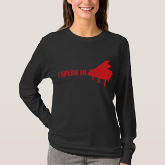 T-shirt Je parle dans la MUSIQUE (les femmes)