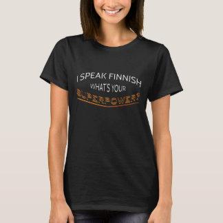T-shirt Je parle finlandais. Quelle est la votre