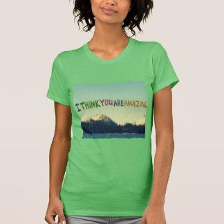 T-shirt Je pense votre stupéfier