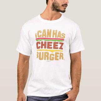 T-shirt Je peux a Cheezburger