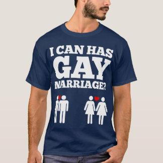 T-shirt Je peux a le mariage homosexuel ?