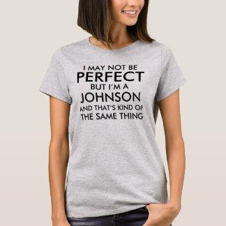 T-shirt Je peux ne pas être parfait ajoute le nom de