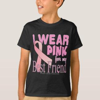 T-shirt Je porte le rose pour mon cancer du sein de