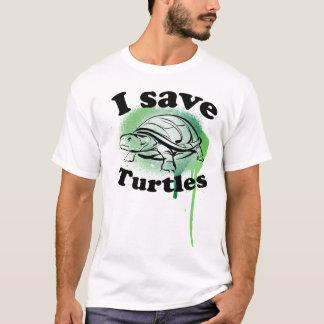 T-shirt Je sauve des tortues