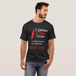 T-shirt Je sauve la bière ce soir