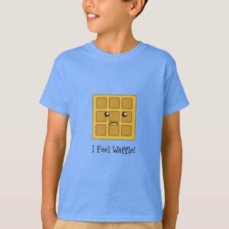 T-shirt Je sens la gaufre !