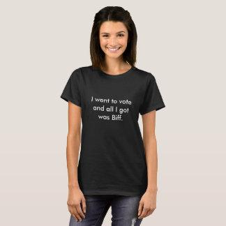 T-shirt Je suis allé vote-Coup de poing