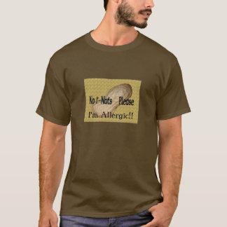 T-shirt Je suis allergique ! !