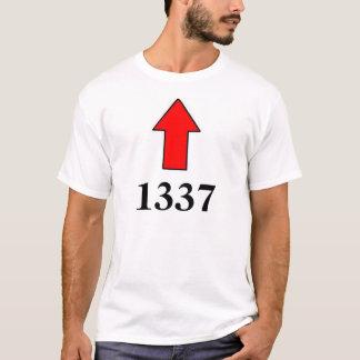 """T-shirt """"Je suis avec 1337"""" chemises"""