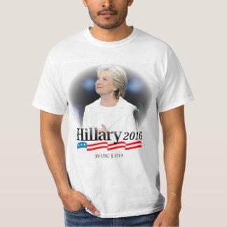 T-shirt Je suis avec Hillary 2016