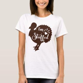 T-shirt Je suis bourré thanksgiving drôle Turquie
