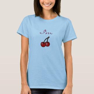 T-shirt Je suis cerise