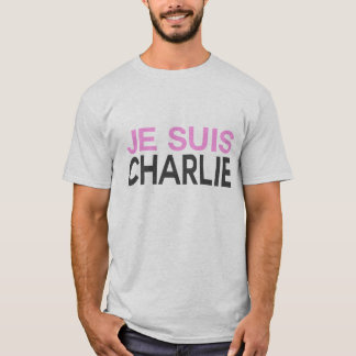 T-shirt Je Suis Charlie ! - Je suis Charlie