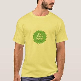 T-shirt Je suis chemise organique de 100%