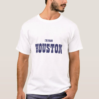 T-shirt Je suis DE HOUSTON