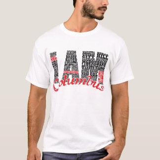 T-shirt Je suis des villes de Columbus