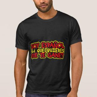 T-shirt Je suis espagnol À Qu'est-ce que veux-tu que