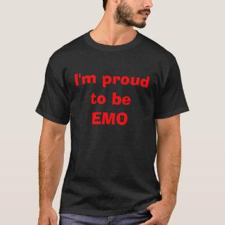 T-shirt Je suis fier d'être EMO