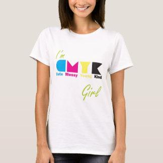 T-shirt Je suis fille de CMYK