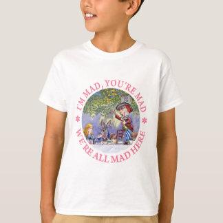 T-shirt Je suis FOU, VOUS suis FOU, NOUS suis TOUS FOU ICI