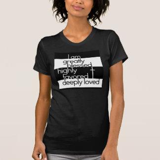 T-shirt Je suis grande bénie, fortement favorisé,