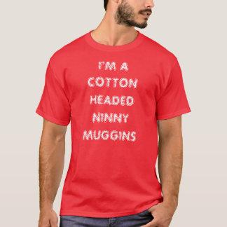 T-shirt Je suis IDIOT de NINNY DIRIGÉ PAR COTON