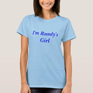 T-shirt Je suis la fille de Randy