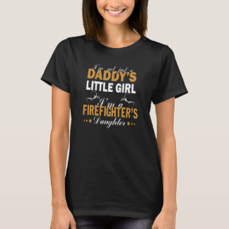 T-shirt Je suis la FILLE D'UN SAPEUR-POMPIER