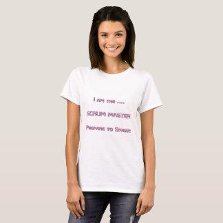 T-shirt Je suis le maître de bousculade
