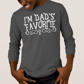 T-shirt Je suis l'obscurité du fils préféré du papa