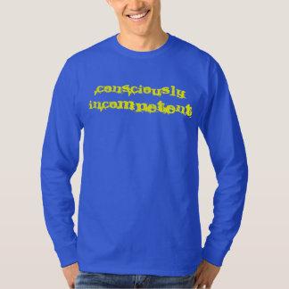T-shirt Je suis naïf et je le sais !