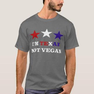 T-shirt Je suis non végétalien texan