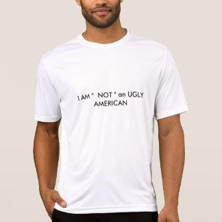 """T-shirt JE SUIS """"PAS"""" un AMÉRICAIN LAID"""