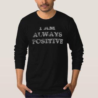 T-shirt Je suis positif