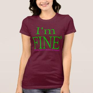 T-shirt Je suis TRÈS BIEN !