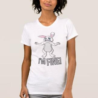 T-shirt Je suis TRÈS BIEN ! Chemise fâchée de lapin