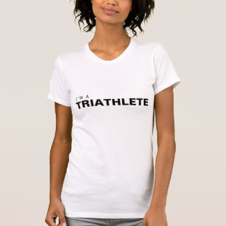T-shirt Je suis UN CANCER de TRIATHLETE/COLON