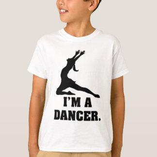 T-shirt Je suis un danseur