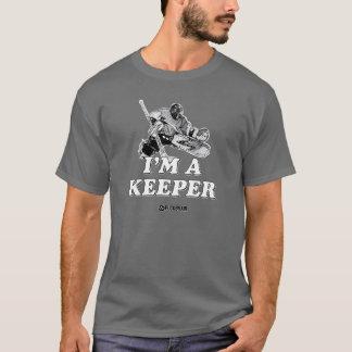 T-shirt Je suis un gardien de but