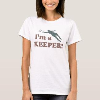 T-shirt Je suis un gardien de but du football de gardien