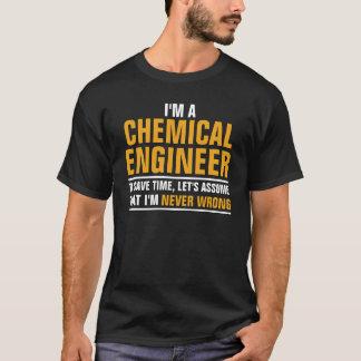 T-shirt Je suis un ingénieur chimiste