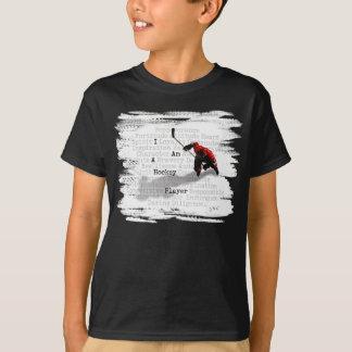 T-shirt Je suis un joueur de hockey