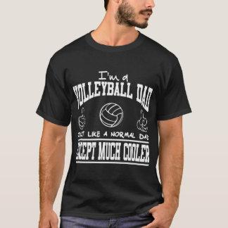 T-shirt Je suis UN PAPA JUSL de VOLLEYBALL COMME UN PAPA