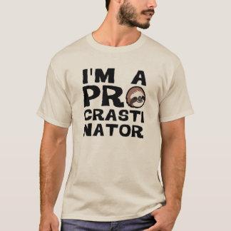 T-shirt Je suis un PROcrastinator