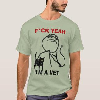 T-shirt Je suis un vétérinaire