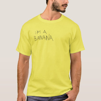 T-shirt Je suis une banane
