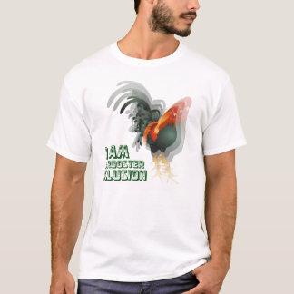 T-shirt Je suis une illusion de coq