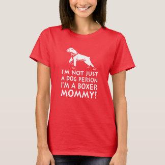 T-shirt Je suis une maman de boxeur !